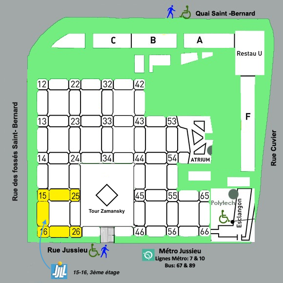 plan de Jussieu et LJLL 5 fev 2019
